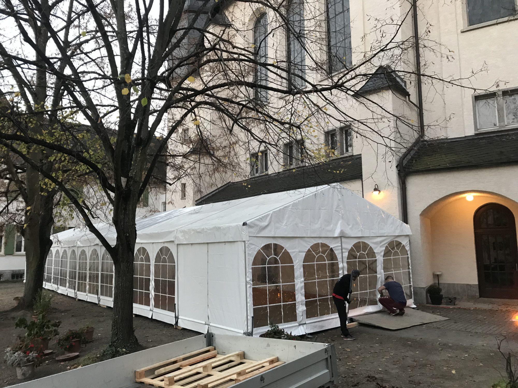 Festzelt Röder HTS 6x24m mieten I Zelt Verleih-Frankfurt.de